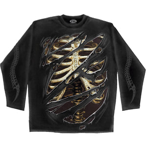 DEVILS MARK - Longsleeve T-Shirt Black
