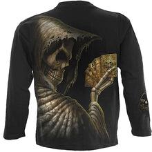 Load image into Gallery viewer, DEAD MANS HAND - Longsleeve T-Shirt Black