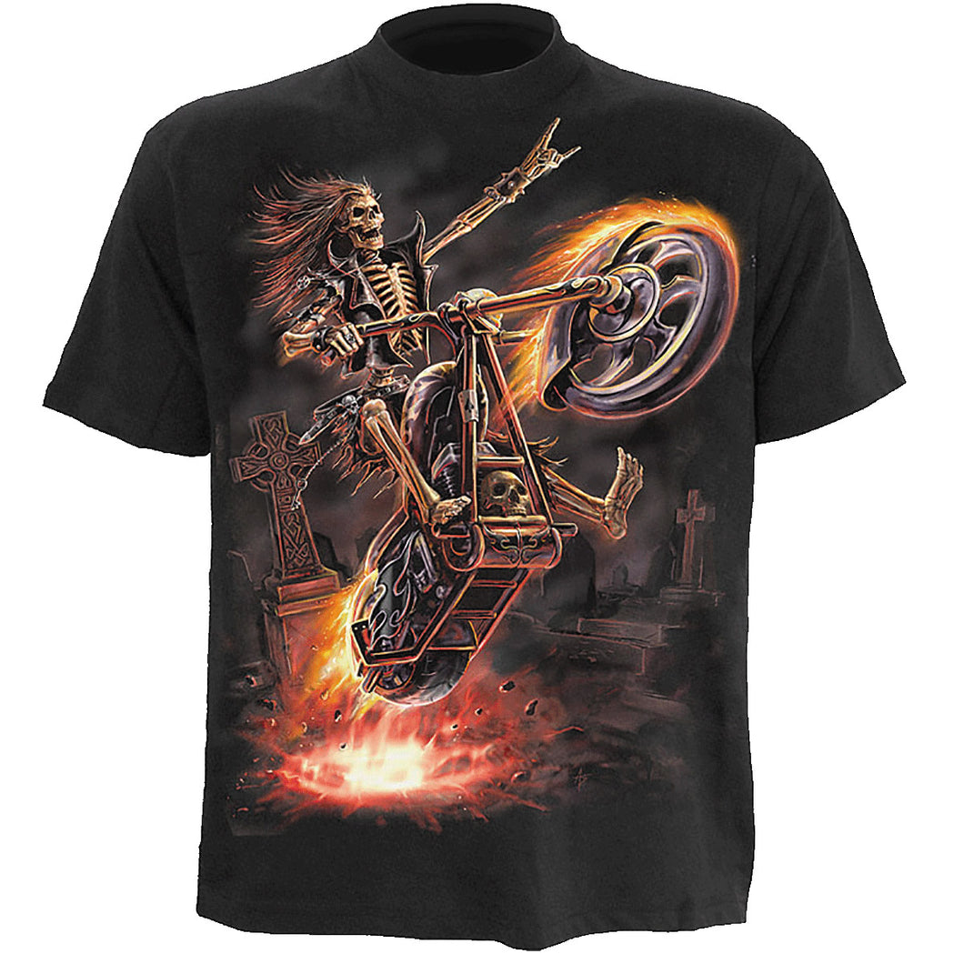 HELL RIDER - Kids T-Shirt Black