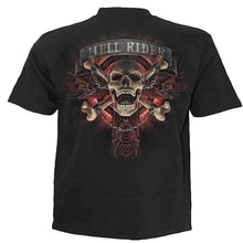 Load image into Gallery viewer, HELL RIDER - Kids T-Shirt Black