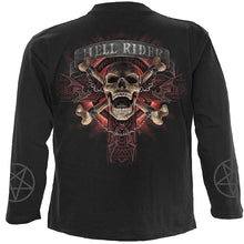 Load image into Gallery viewer, HELL RIDER - Longsleeve T-Shirt Black