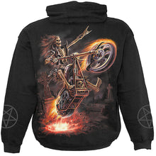 Load image into Gallery viewer, HELL RIDER - Hoody Black