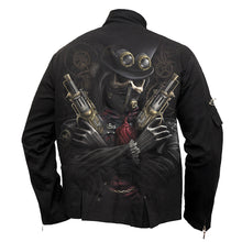 Load image into Gallery viewer, STEAM PUNK BANDIT - Orient Goth Jacket Black