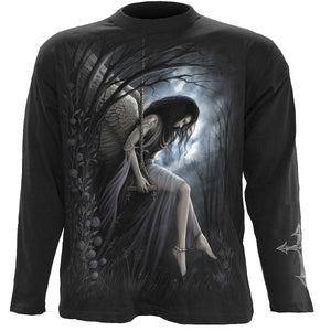 ANGEL LAMENT - Longsleeve T-Shirt Black