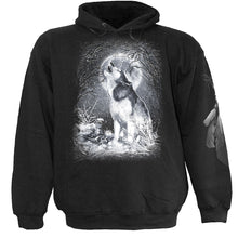 Load image into Gallery viewer, WHITE WOLF - Kids Hoody Black