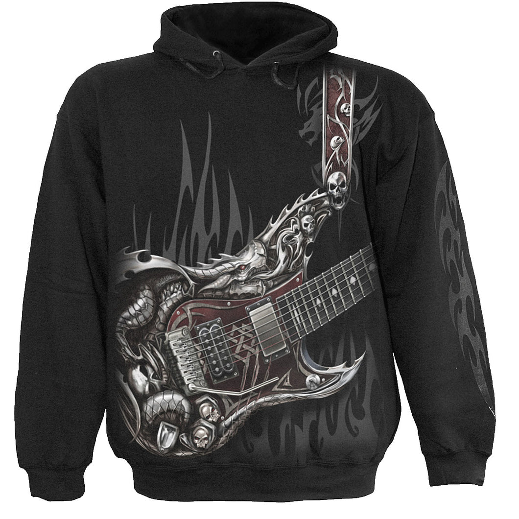 AIR GUITAR - Kids Hoody Black