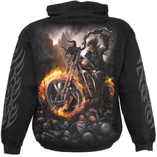 Load image into Gallery viewer, WHEELS OF FIRE - Hoody Black