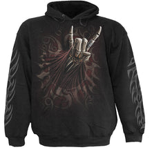 Load image into Gallery viewer, ROCK SALUTE - Hoody Black