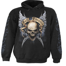 Load image into Gallery viewer, SHUT UP AND RIDE - Hoody Black