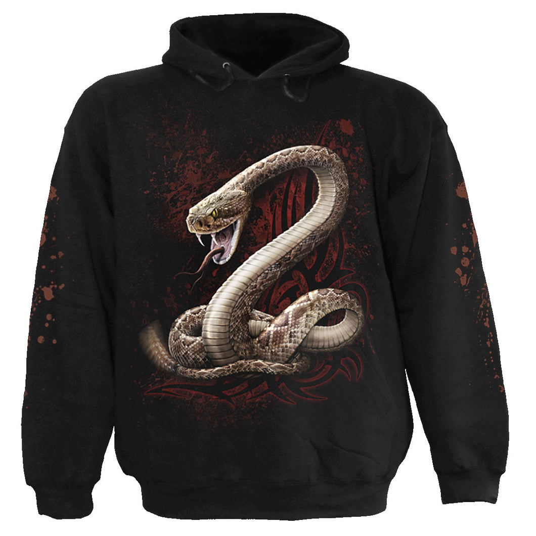 SNAKE EYE STUD - Hoody Black