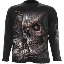 Load image into Gallery viewer, EL MUERTO - Longsleeve T-Shirt Black