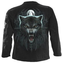 Load image into Gallery viewer, WOLF QUEEN - Longsleeve T-Shirt Black