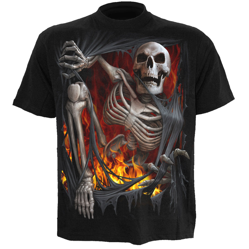 DEATH RE-RIPPED - Kids T-Shirt Black