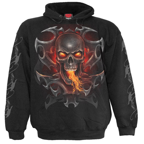 FIRE DRAGON - Kids Hoody Black