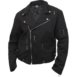 ROCK ETERNAL - Lined Biker Jacket Black