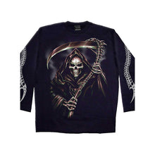 Load image into Gallery viewer, REAPERS CURSE  - Longsleeve T-Shirt Black