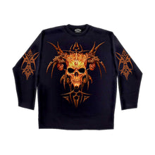 Load image into Gallery viewer, HORNED DEMON  - Longsleeve T-Shirt Black