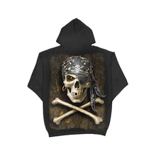 Load image into Gallery viewer, PIRATE SKULL  - Hoody Black