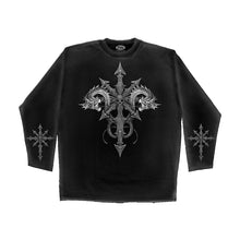 Load image into Gallery viewer, CHAOS  - Longsleeve T-Shirt Black