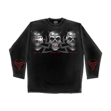 Load image into Gallery viewer, EVIL SENSES  - Longsleeve T-Shirt Black