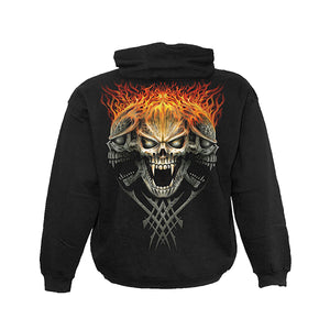 FACE OFF  - Hoody Black