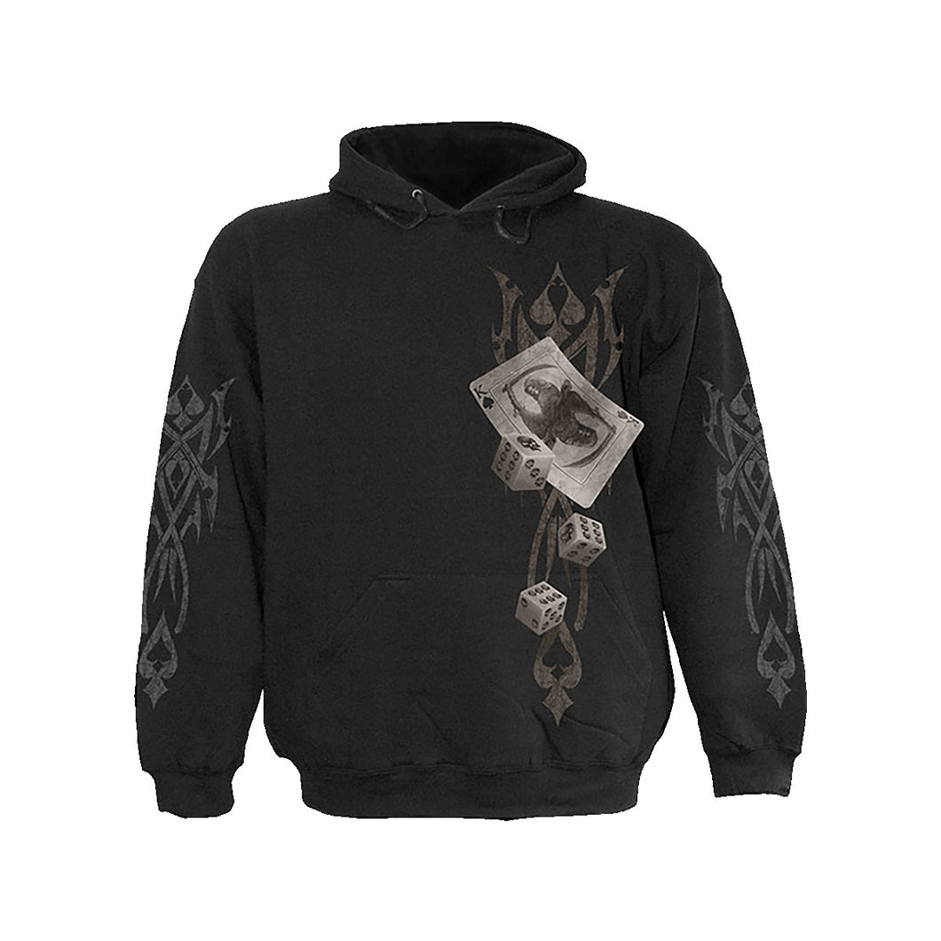 DICE WITH DEATH  - Hoody Black