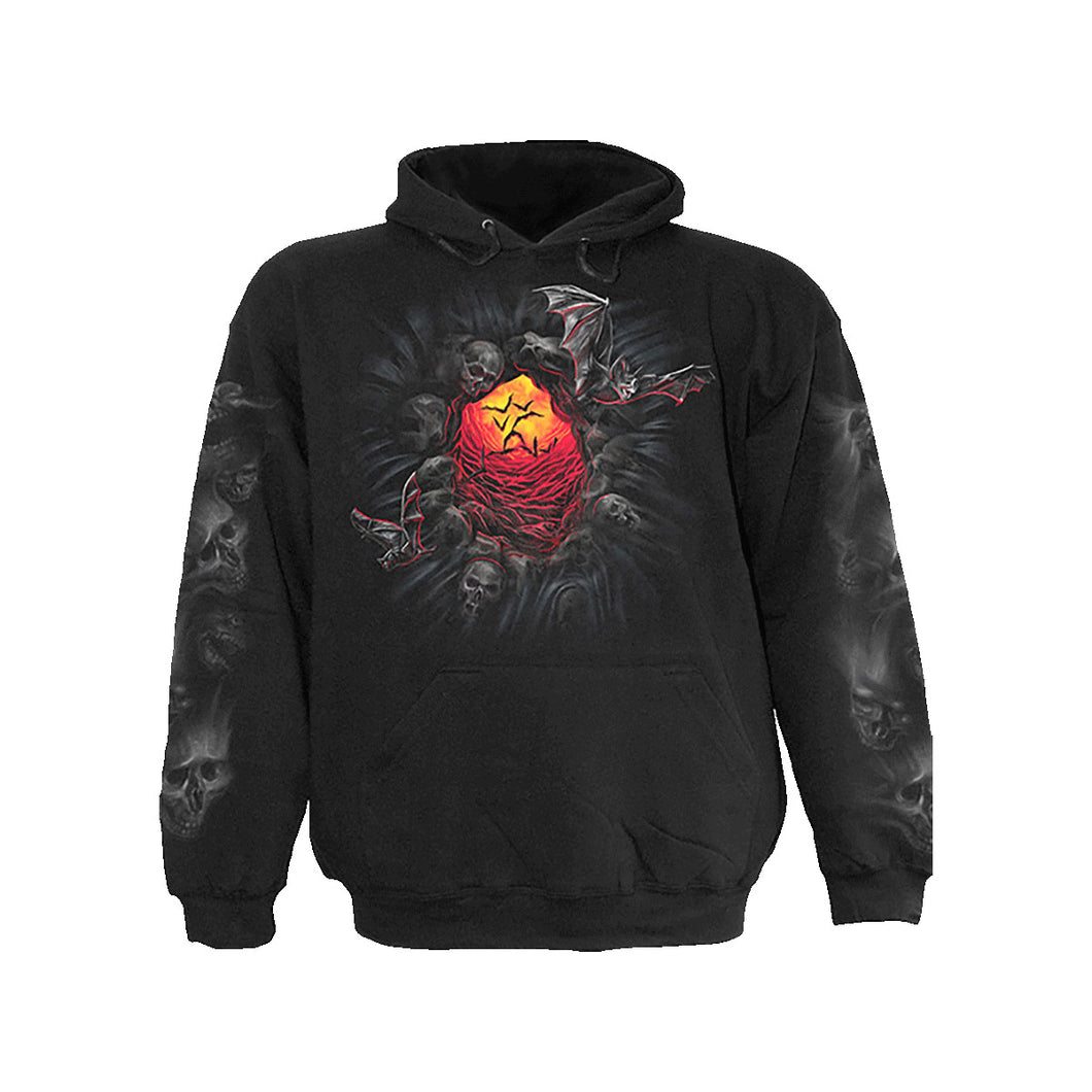 HELLMOUTH  - Hoody Black