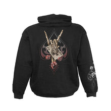 Load image into Gallery viewer, DEVILS HAND  - Hoody Black