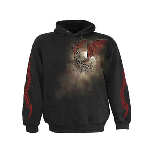 DRAGON BONE  - Hoody Black