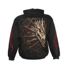 Load image into Gallery viewer, DRAGON BONE  - Hoody Black