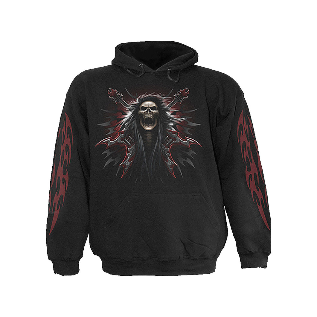 HELL ROCK  - Hoody Black
