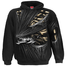 Load image into Gallery viewer, BONE SLASHER - Allover Hoody Black