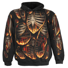 Load image into Gallery viewer, INFERNO - Allover Hoody Black