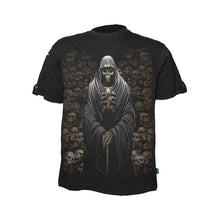 Load image into Gallery viewer, DEATH CRYPT  - Rollup Sleeve T-Shirt Black