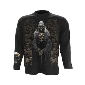 DEATH CRYPT  - Longsleeve T-Shirt Black