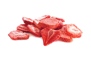 Freeze Dried Strawberry 10mm Diced - $23.12/lb - 22/lb cases - Free Delivery