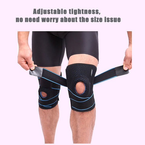 Adjustable Elastic Kneecap Pads for Sports