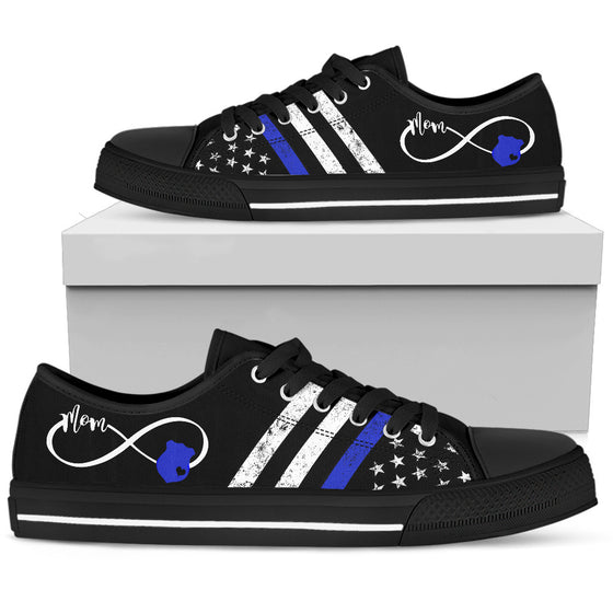 Police Mom Lowtop Shoes