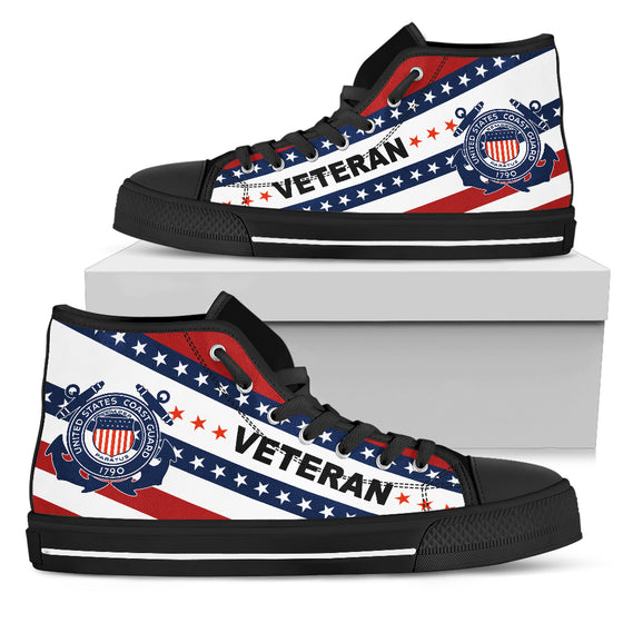 US Coast Guard High Top Shoe