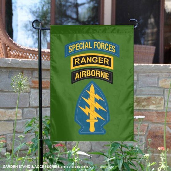 Special Forces SOC Ranger GARDEN FLAG Double-Sided Print