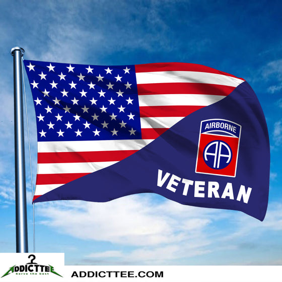 3x5 82nd Airborne Division Veteran Flag