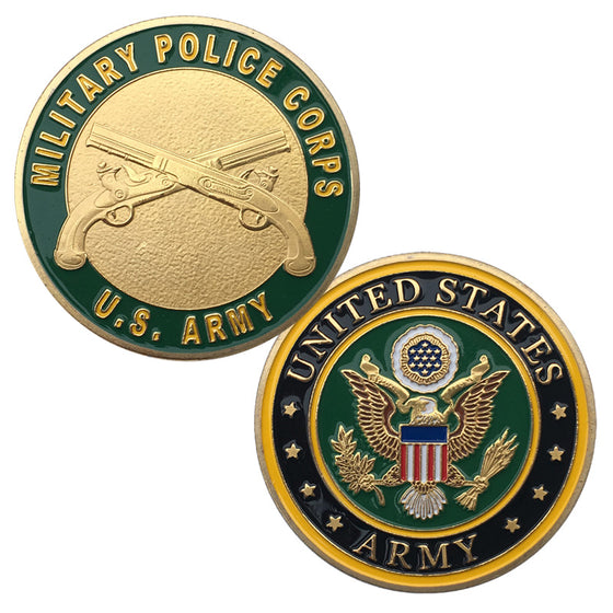 Collection ~U.S Army Military Police Colozied Challenge Coin/Badge/Medal 1387#