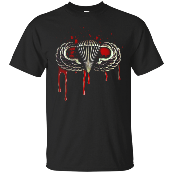 Airborne Shirt Paratrooper Blood Wing Shirt Basic