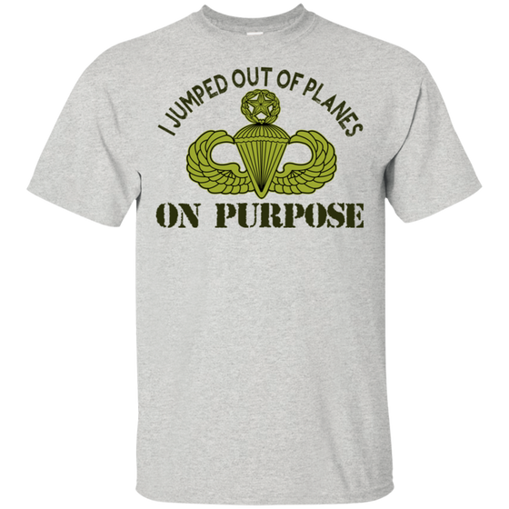 I Jumped Out Of Planes Paratrooper Shirt  Master Wing