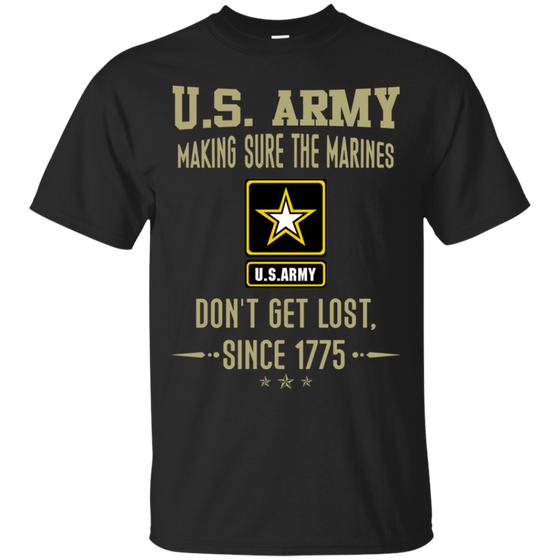 U.S. Army Don't Get Lost Since 1775