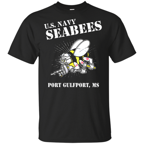 U.S Navy Seabees Gulfport MS Shirt