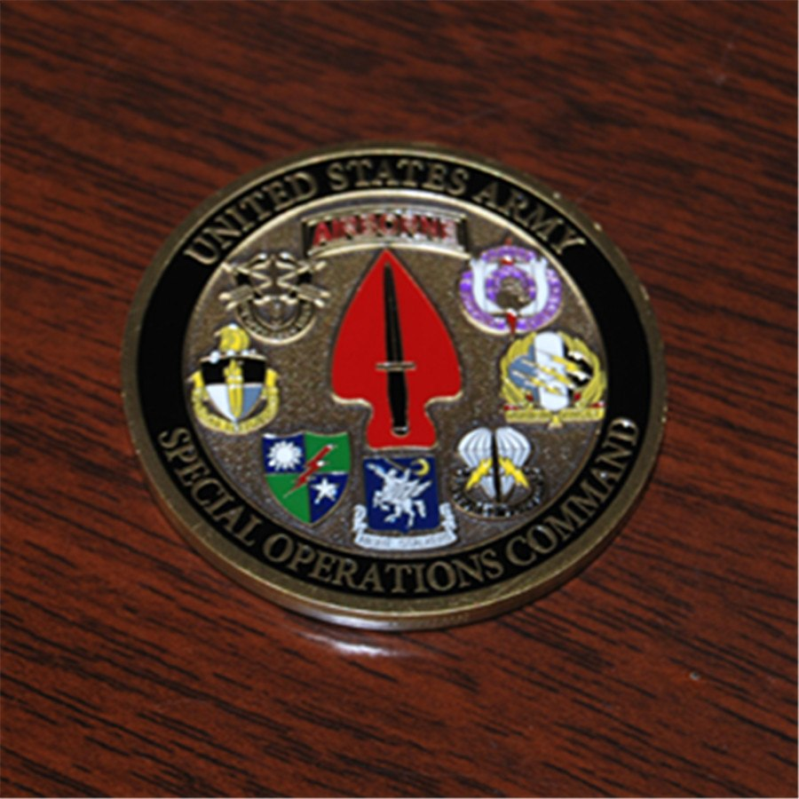 U S  Army Special Operations Command - Sine Pari - USASOC Challenge