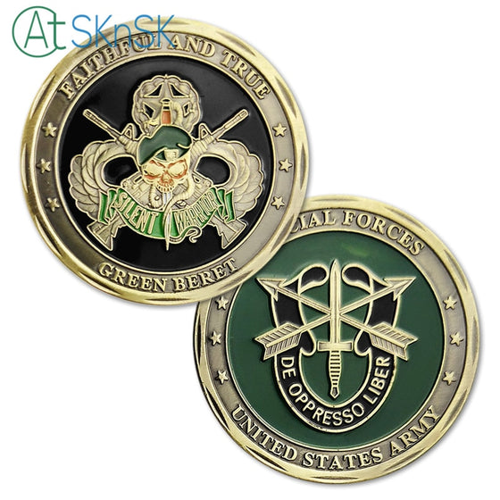 Special Forces United States Army Challenge coins
