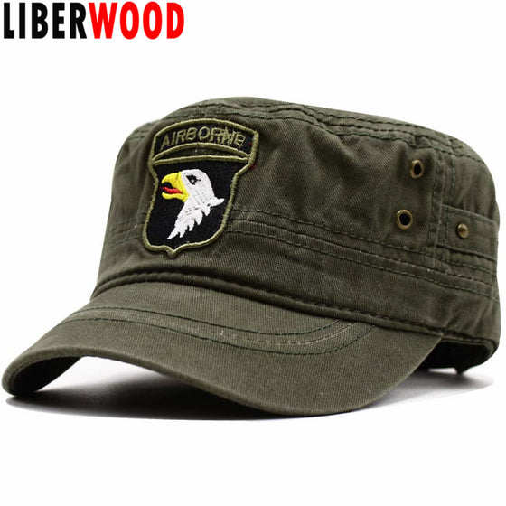101ST Airborne Division Army Green Cap Hat