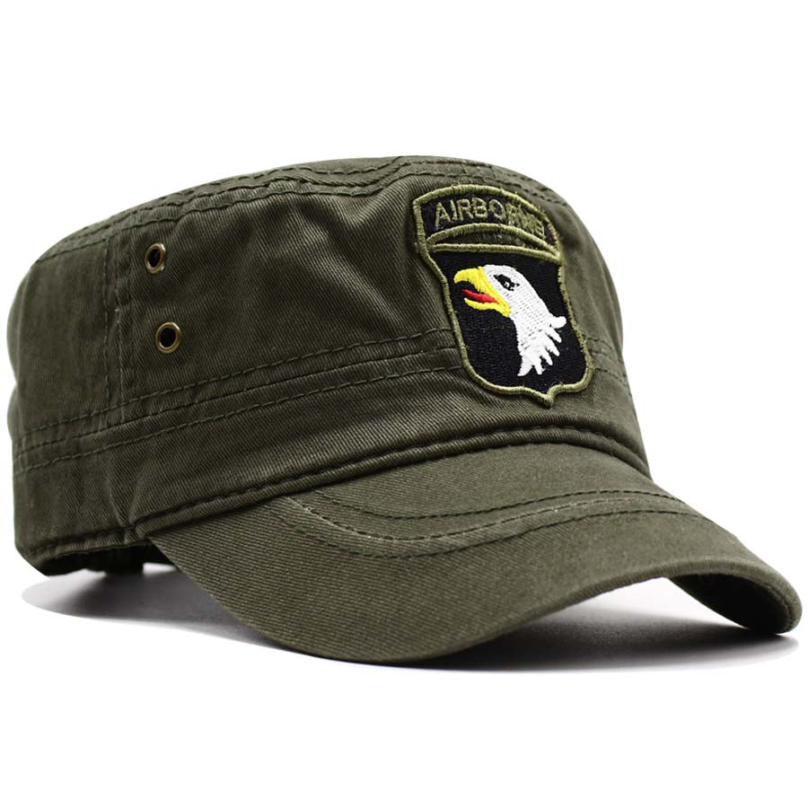 a60514ef65f 101ST Airborne Division Army Green Cap Hat - Addict Tee